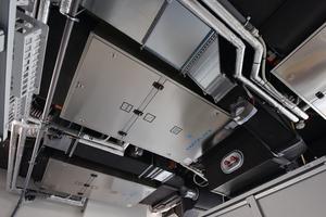 Der Hepa Jet TB3 von OP-Air ist ein Reinraum-Lüftungsgerät für die Raumklasse 1b nach DIN 1946-4 und für die Deckenmontage geeignet