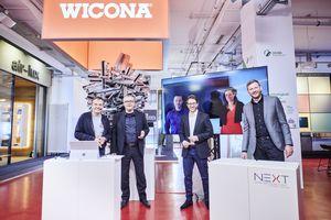 v. l. n. r.: Prof. Dr.-Ing. Ulrich Knaack, Lars Anders, Gertjan Peters, Paul Denz, Dominique Vosmaer und Jens Böke