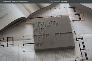 Architekturpreis Beton in Ulm 2021: in diesem Jahr digital verliehen