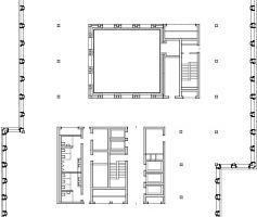 Grundriss 1. - 5. Obergeschoss, M 1:1000