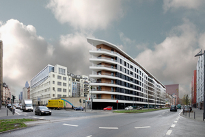 """Deutscher Solarpreis 2015 ging u.a. an das """"Aktiv-Stadthaus"""", Frankfurt a.M.<br />(HHS Planer + Architekten)"""