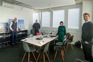 Bei unseren Heftpartnern Schmidtploecker Architekten in Frankfurt a. M.