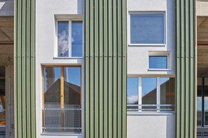 Das Mock-up-Modell der Fassade