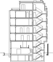 Schnitt M 1:750