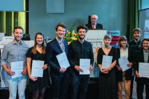 Mit dem Student*innen-Förderpreis verschafft der BDB innovativen Projekten junger Planer*innen öffentliche Aufmerksamkeit. Hier die Sieger*innen von 2019