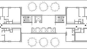 Grundriss 13. Obergeschoss, M 1:750