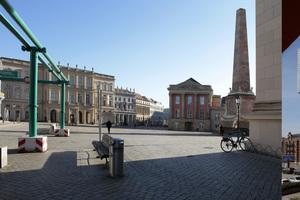 Wir machen uns von allem Bilder, auch – und besonders? – von der Stadt: Norderney, Potsdam und Rotterdam