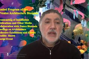 Chefkurator Hashim Sarkis betonte im Livestream die wichtige Aufgabe der Architekturbiennale in der Baubranche, aber vor allem die Gesellschaftliche
