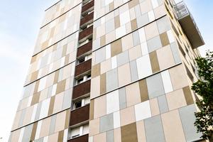 HardiePlank® und HardiePanel® Fassadenbekleidungen erfüllen die Anforderungen der Baustoffklasse A2-s1, d0 entsprechend der EN 13501-1 (nicht brennbar). Sie können somit für alle Gebäudeklassen und eben auch für Hochhäuser normkonform verwendet werden und übertreffen die Schutzziele sogar.
