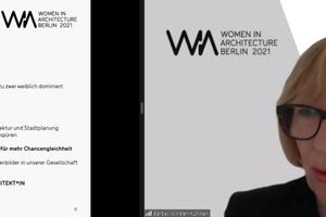 Bärbel Winkler-Kühlken Vizepräsidentin der Architektenkammer Berlin