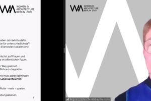Regula Lüscher Schirmfrau WIA Berlin 2021 Senatsbaudirektorin und Staatssekretärin in der Senatsverwaltung für Stadtentwicklung und Wohnen Berlin