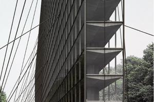 """Ausgezeichnet im Themengebiet """"Ingenieurbauwerke"""": Jurij von Aster mit seiner Hochhausidee """"Linear Highrise"""", die an der Accademia di Architettura in der Schweiz entstand"""