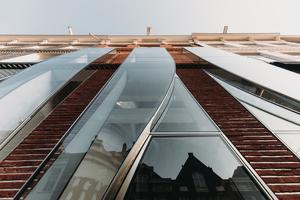 """Das Projekt """"The Looking Glass"""" befindet sich auf der P.C. Hoofstraat, eine der berühmtesten Einkaufsstraßen Amsterdams"""