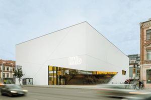 """Life Challenge 2021 Award Sieger, """"MO Museum"""", Vilnius/LTU, Studio Libeskind und Do Architects"""