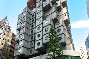 Tage gezählt?<br />Der Nakagin Capsule<br />Tower in Tokio