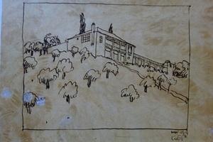 """LCs' Projekt der """"Klipstein-Villa"""" in Laubach, 1914. Kopie (Sammlung der Geschwister Klipstein Stiftung Laubach)"""