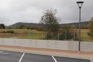 L-Wand in Thionville: Bei der Fertigung der nichttragenden Konstruktion kam 100%-RC-Beton zum Einsatz