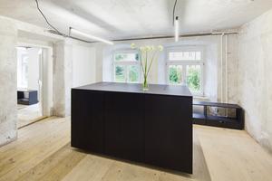 Reparieren und pflegen: Büroräume von heilergeiger in einer ehemaligen Stiftsdruckerei