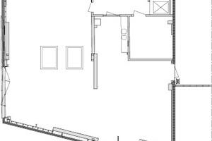 Grundriss Erdgeschoss, M 1:333,33