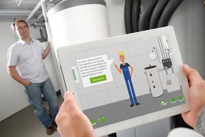 """Perspektiven für den Nachwuchs: Der E-Learning-Kurs """"Helden der Energiewende"""" vermittelt Fachwissen über Wärmepumpen und wird von Berufsschulen und SHK-Installateuren genutzt"""