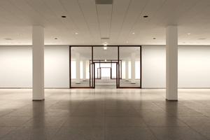 Foyer im Untergeschoss