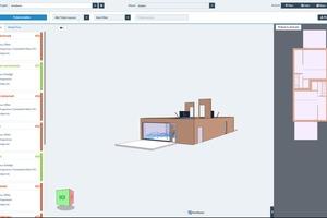 Die Software erlaubt einen Überblick über alle Informationen zu den hinterlegten Bauteilen