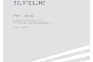 Die FVHF-Leitlinie VHF Qualität und Beurteilung kann als PDF gegen eine Schutzgebühr von 9,95 Euro per E-Mail an info@fvhf.de bestellt werden.