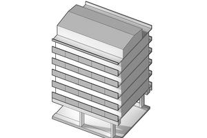 Die ursprüngliche Fassade