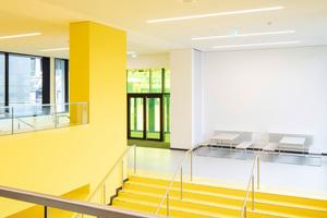 Großer Auftritt: Für die Sanierung der Heinrich-Heine Universität in Düsseldorf zeichnen die HeftparterInnen RKW Architektur + verantwortlich