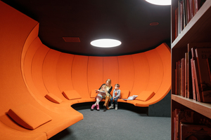 Neben Co-Working-Spaces oder Einzelarbeitsräumen gibt es Räumemit ruhiger Atmosphäre