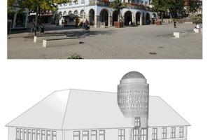Das Projekt BIM-SIS arbeitet die Informationen zu Schäden an der Natursteinfassade in die digitalen Klone von Bestandsgebäuden ein