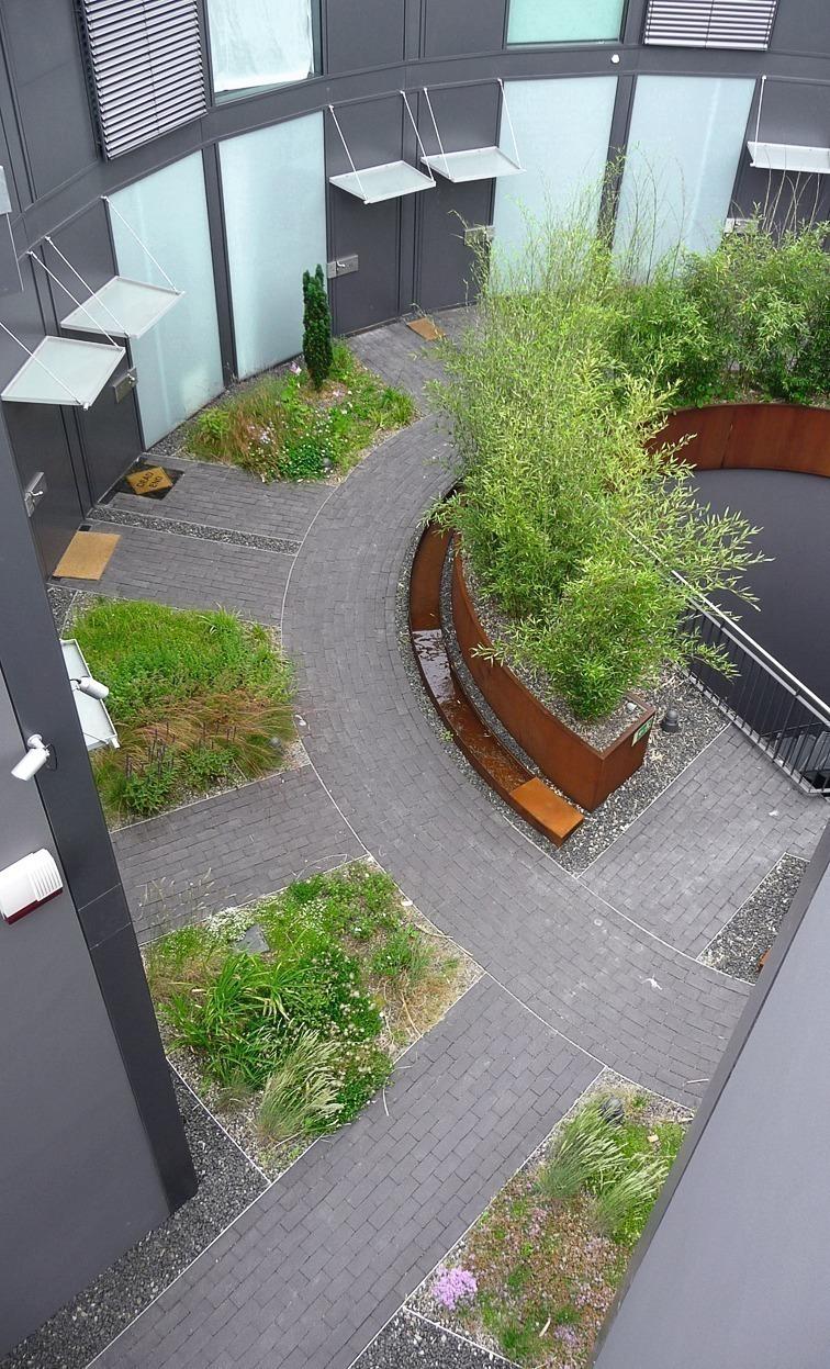 Deutsche bauzeitschrift for Gartengestaltung berlin