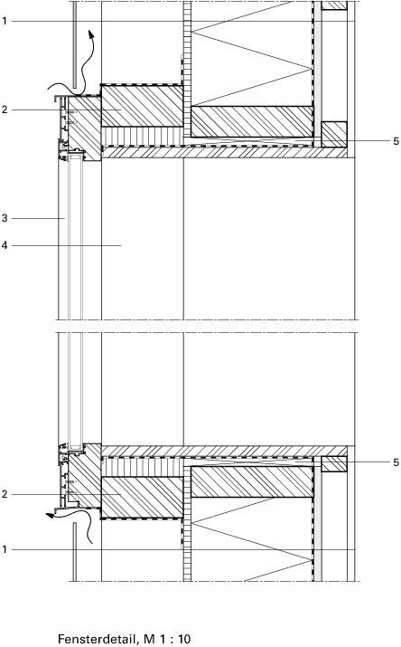 Holzbau detail fenster  Gekrümmt wie eine Echse Strandbad Seeburg - Deutsche BauZeitschrift