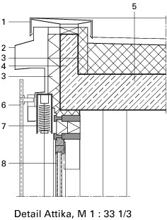 Glasfassade detail bodenanschluss  Deutsche BauZeitschrift
