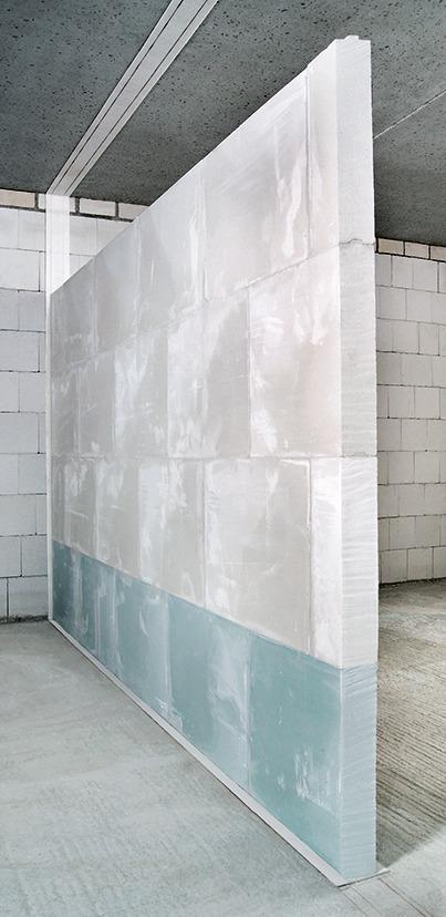 Das Flankendämm Maß Entkoppelter Gips Massiv Wände Liegt In Derselben  Größenordnung Wie Das