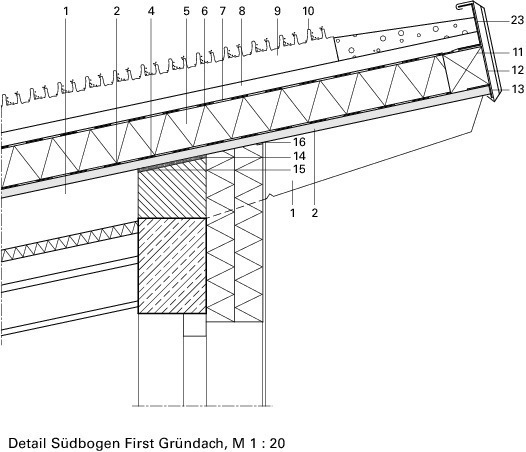 Pultdach first detail