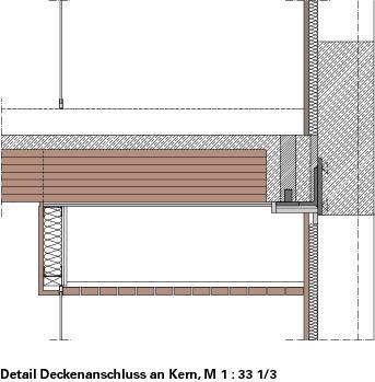 Holzbau detail  Hybridsystem für den mehrgeschossigen Holzbau Der LifeCycle Tower ...