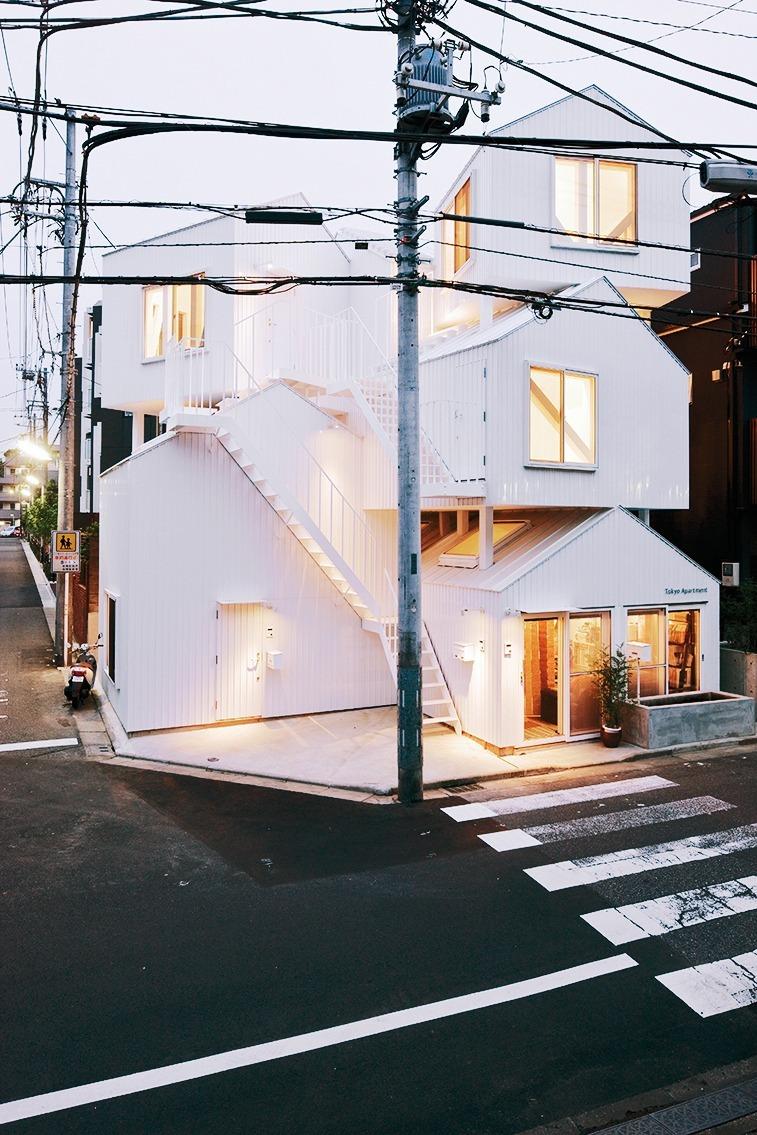 gerade architektur fotografieren