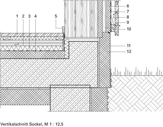 Holzbau detail  Mehrgeschossiger Holzbau in der Stadt Woodcube, Hamburg - Deutsche ...