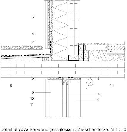 Eingangstür detail grundriss  Keep it simple and stupidBürogebäude, Augsburg - Deutsche ...