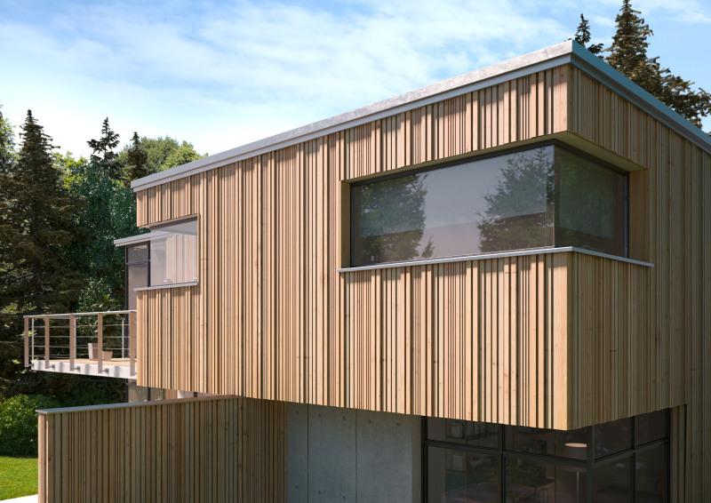 Holz Fassaden deutsche bauzeitschrift