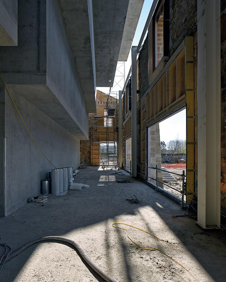 Die Einzelnen Archivräume über Dem Lesesaal Dürfen Aus Brandschutzgründen  Nicht Größer Als 200 M² Sein.