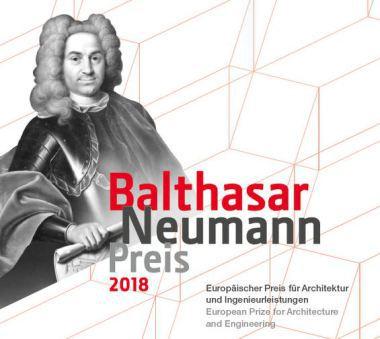 Logo des Balthasar Neumann Preises 2018 DBZ Deutsche BauZeitschrift