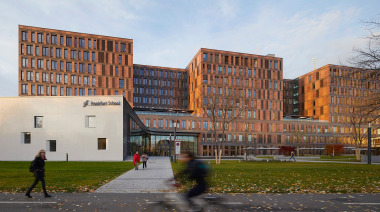 Frankfurt School of Finance & Management, Frankfurt - MOW Architekten