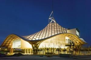 """<div class=""""10.6 Bildunterschrift"""">Die Ausstellungsbereiche des Centre Pompidou in Metz sind nach Belieben modulierbar</div>"""
