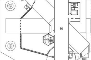 3. Obergeschoss, M 1:1500<br />