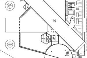 2. Obergeschoss, M 1:1500<br />