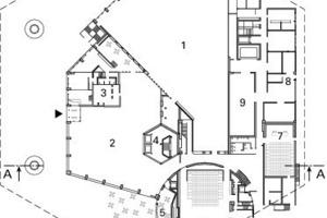 Erdgeschoss, M 1:1500<br />