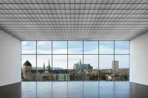 """<div class=""""10.6 Bildunterschrift"""">Die 80m langen, 14m breiten und lichte fünf Meter hohen """"Katakomben"""" sind die eigentlichen Galerieräume</div>"""