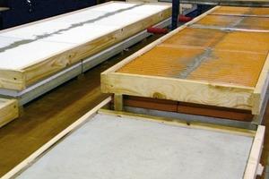 Prüfung von Gipsleichtputzen: wechselnde Untergründe, verschiedene Systemaufbauten<br />